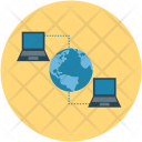 Connected Device Computer Icon