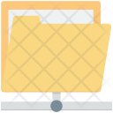 Connected Folder Sharing Icon