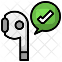 Connected Airpod Icon