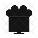 Connected Cloud Network Icon