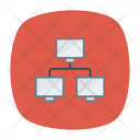 Network Computer Security Icon