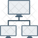 Connected Device Network Connections Icon