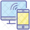Connected Devices Wireless Devices Mobile Signal Icon