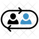 Connected employee Icon
