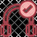 Connected Headphone Icon