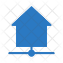 Connected house Icon