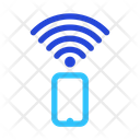 Handphone Wireless Signal Icon