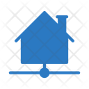 House Sharing Home Icon