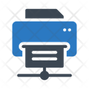Connected printer Icon