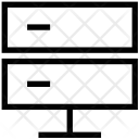 Server Data Database Icon