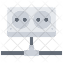 Connected socket Icon