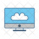 Connected To Cloud Icon