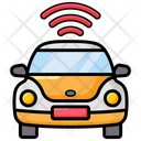 Smart Car Car Connection Car Tracker Icon