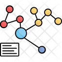 Connecting Graph Infographic Icon