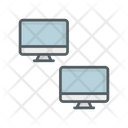 Connecting Connected Network Icon