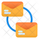 Connecting Email Email Mail Icon