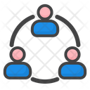 Connecting Group Icon