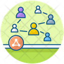 Connecting People Icon