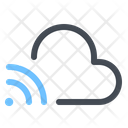 Connecting To Cloud Icon