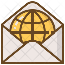 Connection Network World Icon