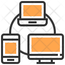 Connection Interaction Network Icon