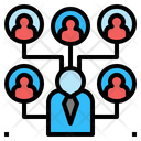 Connection Organization Network Icon
