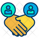 Handshake Deal Meetup Icon