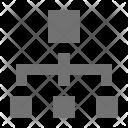 Connection Connectivity Hierarchy Icon