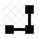 Connection Mesh Netting Icon