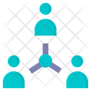 Connection Employee Connection Company Icon
