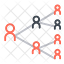 Connection Links Network Icon