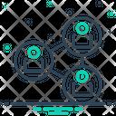Connection Association Bond Icon