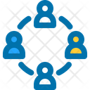Connection Group Team Icon