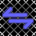 Connection Arrow Transfer Icon