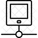 Connection Development Optimization Icon