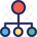 Connection Hierarchy Hierarchy Structure Icon