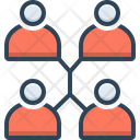 Connection Connect People Icon
