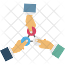 Connection Link Share Icon