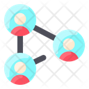 Internet Technology Connection Sharing Icon