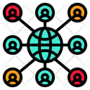 Connection Relationships Relations Icon