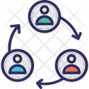 Connection Structure Team Icon