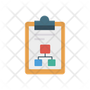 Clipboard Connection Network Icon