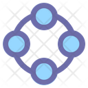 Connection Network People Icon