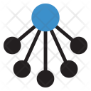 Connection Network Computing Icon