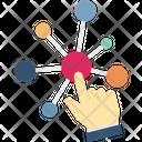 Connection Interaction Interactive Screen Icon