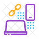 Computer Phone Connection Icon
