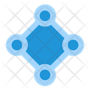 Connection Seo Business Icon