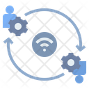 Connection Contact Internet Icon