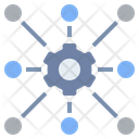 Connection Distribution Export Icon
