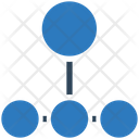 Connection Working Network Hierarchy Icon